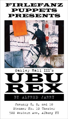 poster for the ubu rex play